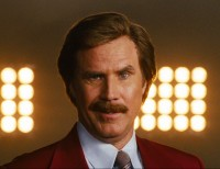 Will Ferrell of the cult classic Anchorman