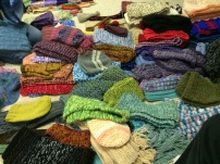 Northbrook Park District donates knitting and Crochet to Warming Hearts and Hands