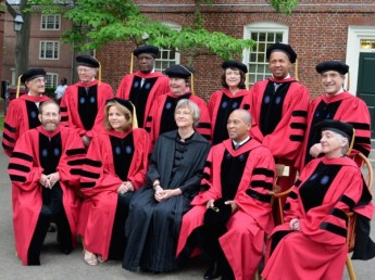Harvard College Honorary Degree Recipients 2015