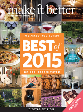 Make It Better August September Best Of 2015 Issue