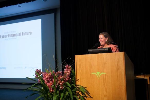 Make It Better Founder Susan B. Noyes speaks at Money, Values & Impact