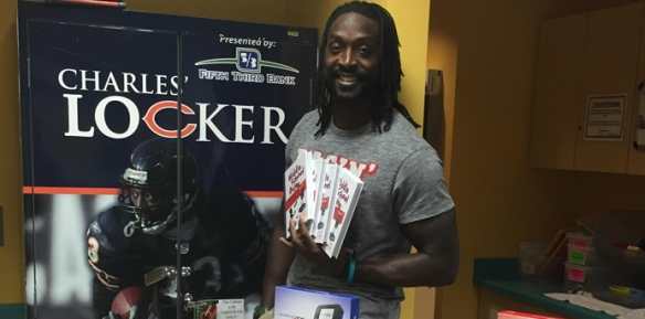 Charles Tillman. (Photo courtesy of the Cornerstone Foundation. )